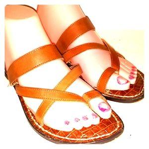 Sam Edelman brown Krys sandals 7